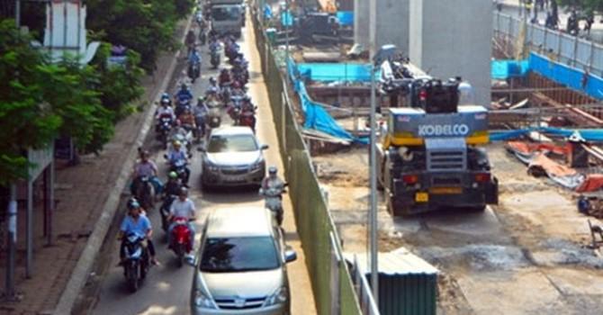 Dự án đường sắt Nhổn - Ga Hà Nội được rót thêm vốn