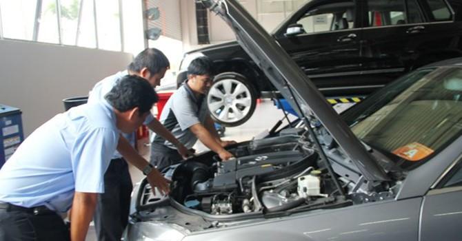 Mua ô tô cũ chơi Tết: Mẹo phát hiện xe đã bị phục chế sau tai nạn