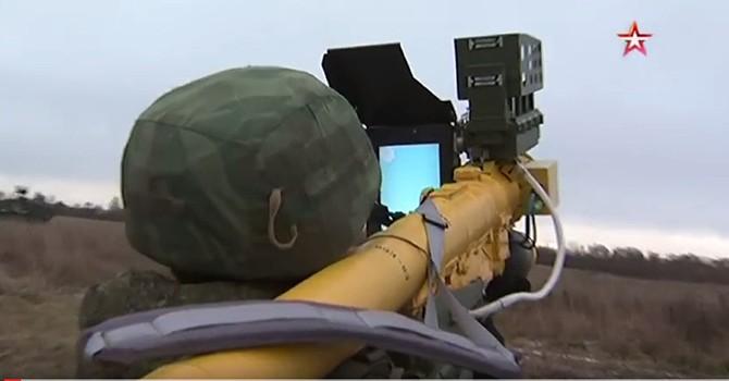 Vũ khí mới nhất của Nga: Tổ hợp tên lửa phòng không vác vai Verba
