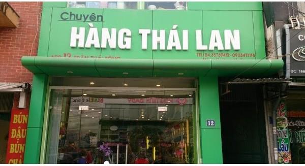 Vì sao người Sài Gòn mê hàng Thái?