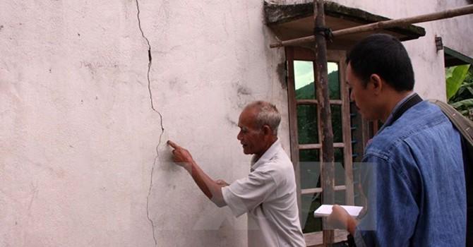 Động đất 4,4 độ Richte làm rung chuyển thành phố Điện Biên