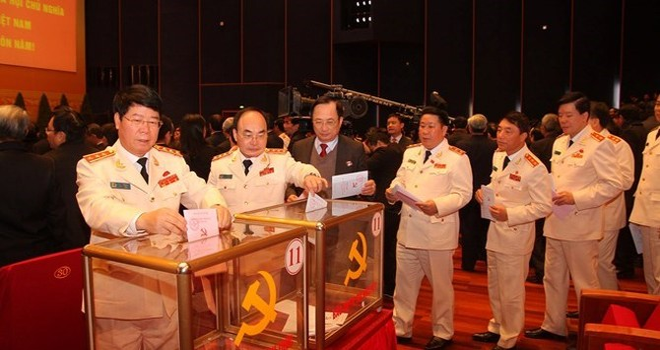 Quy trình bầu Bộ Chính trị, Tổng Bí thư Đảng Cộng sản Việt Nam