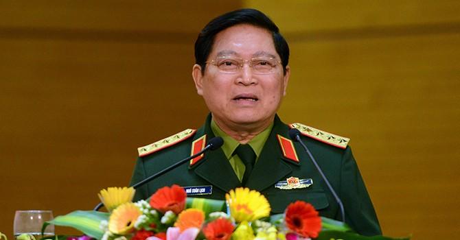 """Đại tướng Ngô Xuân Lịch: """"Không để rơi vào bẫy của nước lớn"""""""