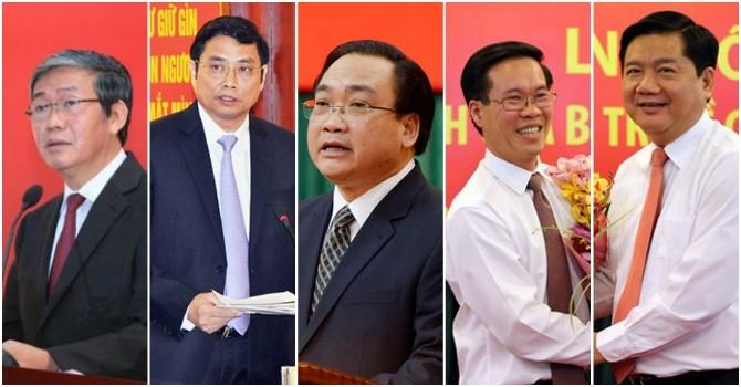 Phân công 5 tân Ủy viên Bộ Chính trị vào cương vị công tác mới