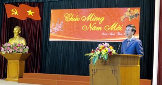 Trao quyết định Trưởng Ban Tuyên giáo Trung ương cho ông Võ Văn Thưởng