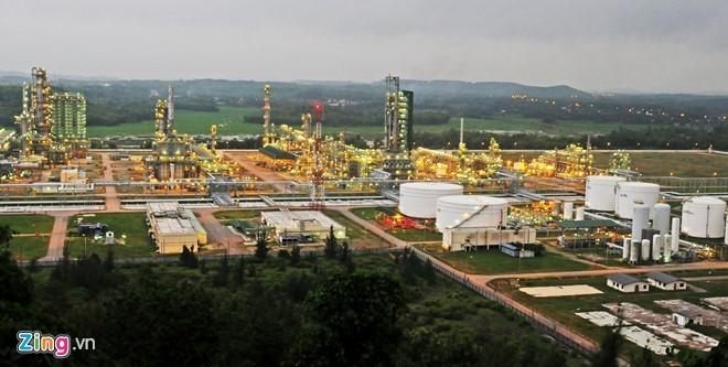 Mở rộng Dung Quất dù giá dầu giảm