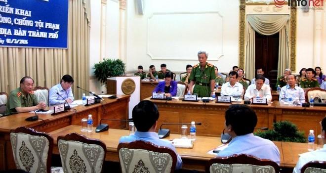 Chủ tịch TP. HCM: Phòng chống tội phạm không phải việc riêng của công an!