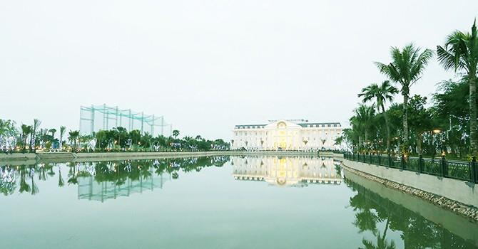 Vĩnh Phúc: Biểu diễn pháo hoa khánh thành FLC Vĩnh Thịnh Resort