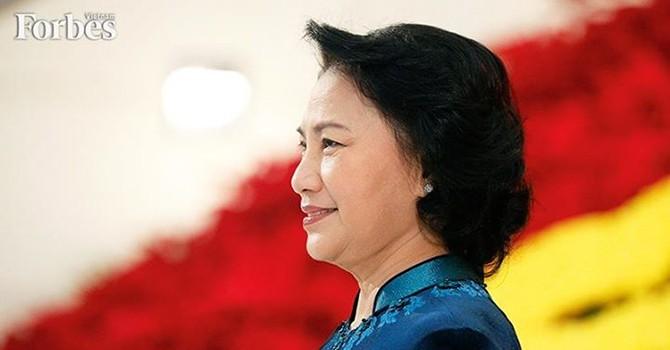 Tạp chí Forbes chọn Phó Chủ tịch Quốc hội Kim Ngân là người phụ nữ ảnh hưởng nhất Việt Nam