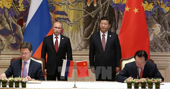 Tập đoàn Gazprom của Nga nhận khoản vay hơn 2 tỷ USD của Trung Quốc