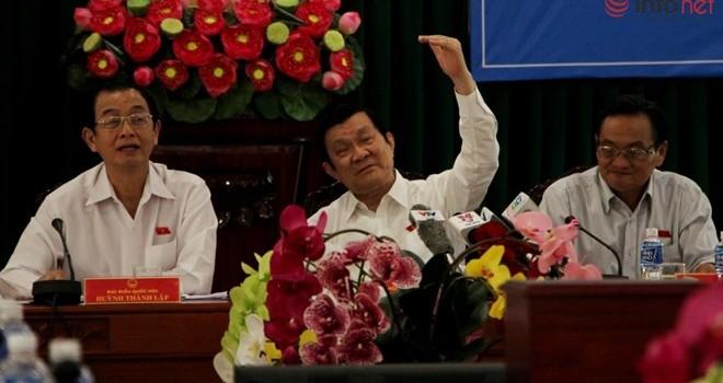 """Chủ tịch nước: """"Sung không tự rơi vào miệng, nó sẽ rơi ra ngoài"""""""
