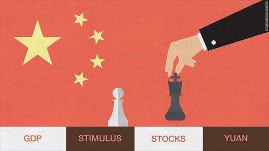 Lần đầu tiên từ năm 1995, Trung Quốc thiết lập mục tiêu tăng trưởng kinh tế