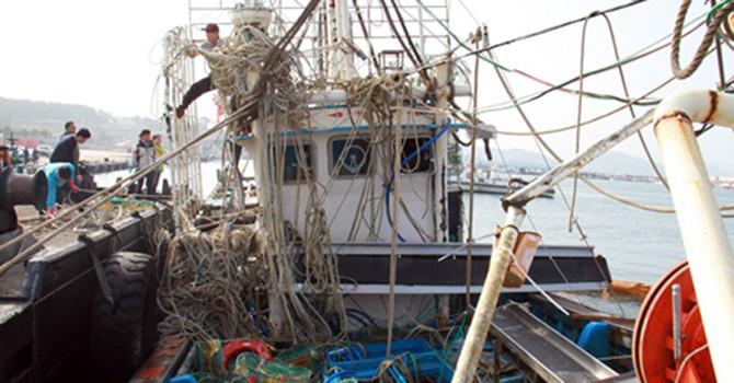 Hàn Quốc phát hiện một thi thể thuyền viên Việt Nam mất tích