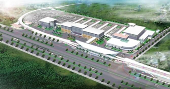 4.000 tỷ đồng xây bến xe Miền Đông mới