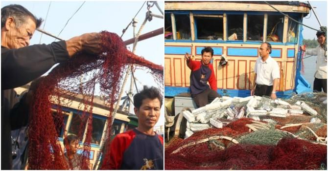 """Ngư dân tố bị hải cảnh Trung Quốc cướp, phá và đe dọa """"bắn chết"""""""