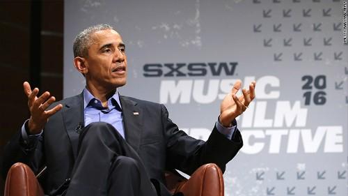 """Obama: """"Chúng ta không thể sùng bái những chiếc điện thoại"""""""