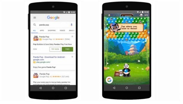 Google cho phép chơi thử game 10 phút trước khi mua