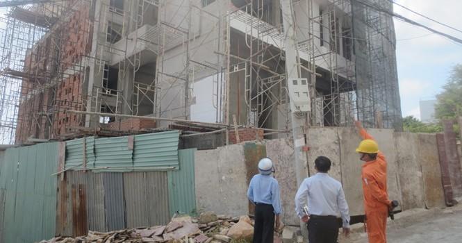 Phát hiện hàng loạt công trình xây dựng sai phép ở Vũng Tàu