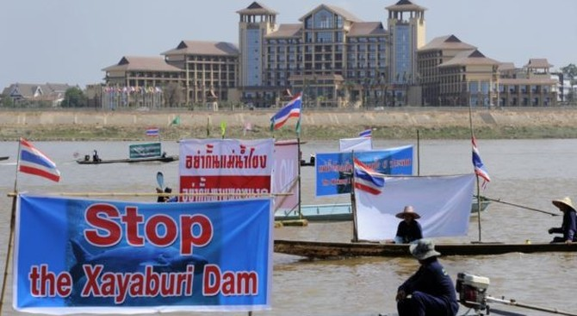 Hạn hán Mekong tệ hơn giữa những nghi ngờ về lời hứa của Lào