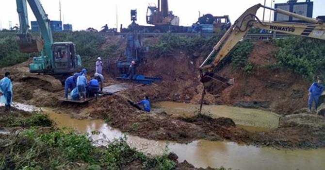 Dự án đường ống nước sông Đà 2: Khó hủy thầu với Trung Quốc?