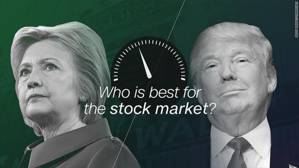 Ứng viên Tổng thống nào lý tưởng nhất cho Thị trường chứng khoán Mỹ?