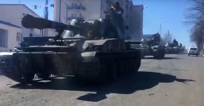 [Video] Báo Nga công bố hình ảnh về xung đột vũ trang hai nước Liên Xô cũ