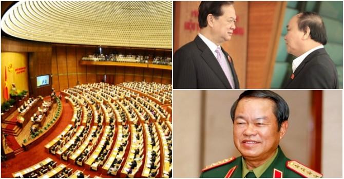 Quốc hội tiếp tục bầu thêm nhiều nhân sự mới, chuẩn bị miễn nhiệm Thủ tướng