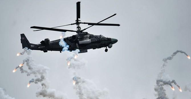 """[Video] Hoạt động của máy bay trực thăng Nga """"Alligator"""" ở Syria xuất hiện trên YouTube"""