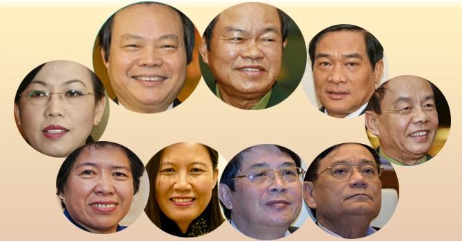 Quốc hội có 2 phó chủ tịch và 7 ủy viên thường vụ mới