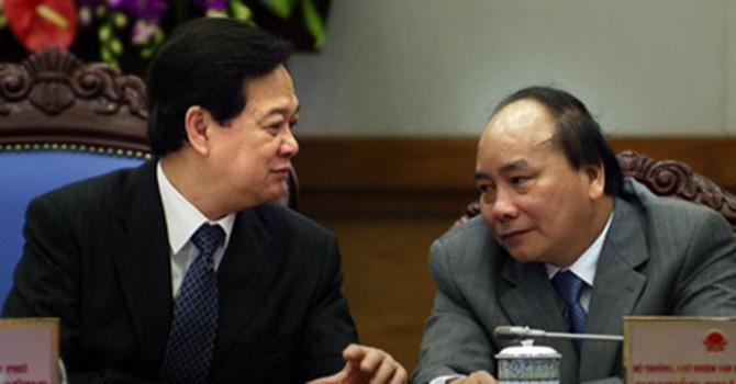 Miễn nhiệm Thủ tướng Nguyễn Tấn Dũng, trình Quốc hội nhân sự Thủ tướng mới