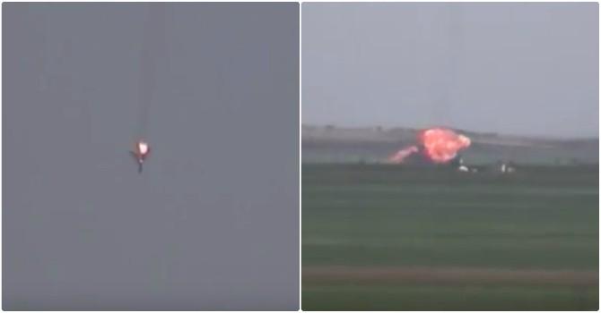 Báo Nga tiết lộ video tiêm kích của không quân Syria bị IS bắn hạ