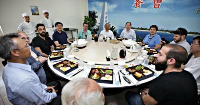 Đài Loan cho học giả quốc tế thăm trái phép đảo Ba Bình