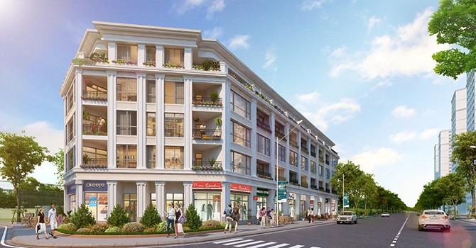 Vingroup mở bán Shophouse Vinhome Times City