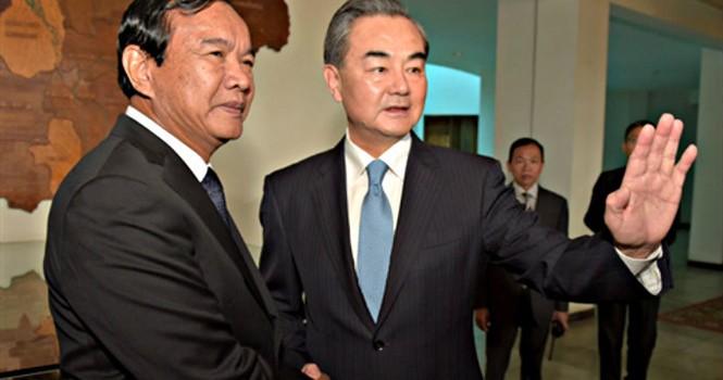 Campuchia tái khẳng định về phe Trung Quốc trong vấn đề Biển Đông