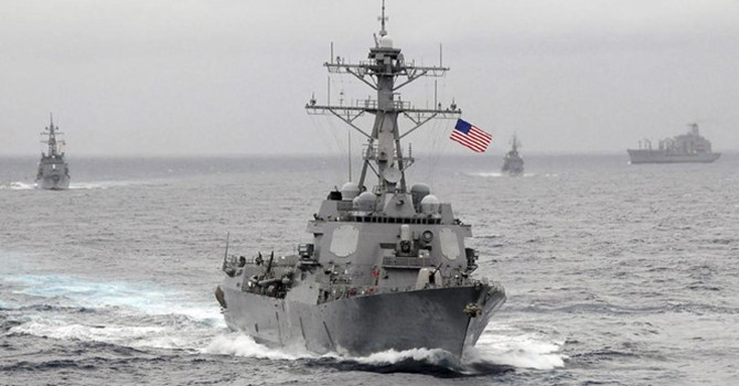 Mỹ thách thức yêu sách trên biển của 13 nước
