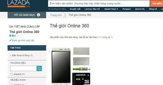 Lazada Việt Nam vẫn bao che cho đối tác bán iPhone 5 hàng dựng?