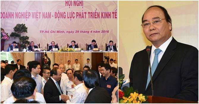 Thủ tướng gặp gỡ doanh nghiệp: Giãi bày, chia sẻ và gỡ khó