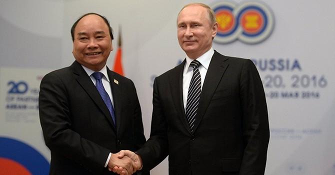 [Video] Tổng thống Putin: Kim ngạch thương mại của Nga và Việt Nam tăng 20% trong quý I năm 2016
