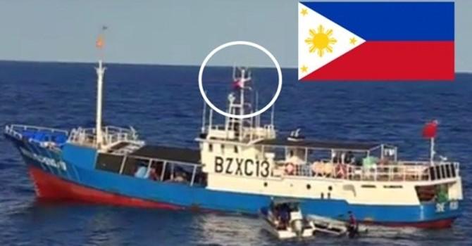 Philippines lại bắt giữ tàu Trung Quốc đánh bắt trộm