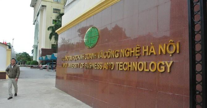 Đại học Kinh doanh và Công nghệ: Chưa được phép đã thông báo tuyển sinh