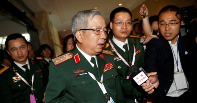 Phóng viên quốc tế vây kín hội đàm Việt - Trung ở Shangri-la