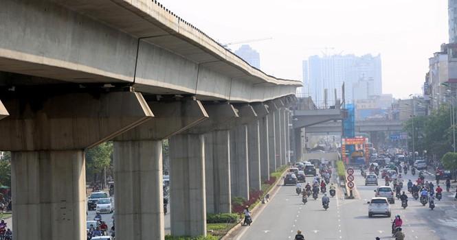 Dự án Cát Linh - Hà Đông vẫn mắc lỗi thiếu an toàn thi công