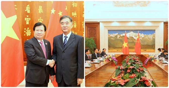 Khuyến khích doanh nghiệp Trung Quốc đầu tư vào các dự án lớn của Việt Nam