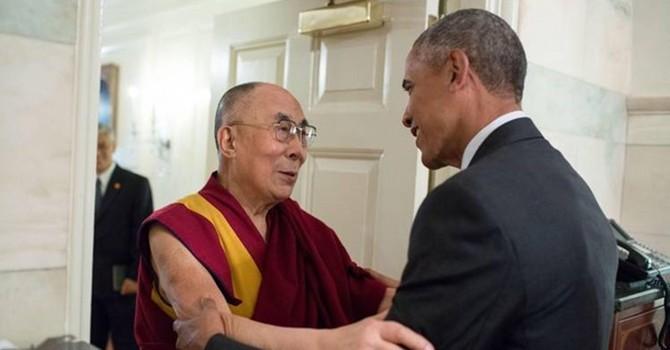 Trung Quốc nổi giận vì Obama gặp Dalai Lama
