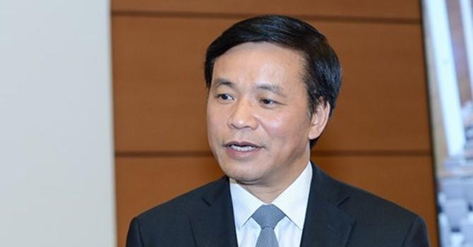 """Tổng thư ký Quốc hội: """"Ông Trịnh Xuân Thanh không xứng đáng đại biểu Quốc hội"""""""