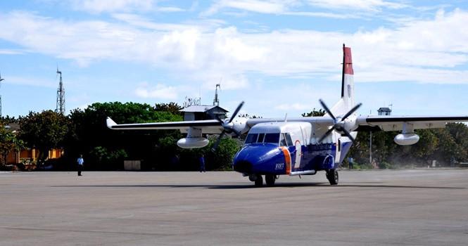 Máy bay CASA 212 chìm ở độ sâu khoảng 58 m, gần đảo Bạch Long Vĩ
