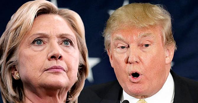 """Bà Hillary """"đè bẹp"""" ông Trump trên mặt trận tài chính"""