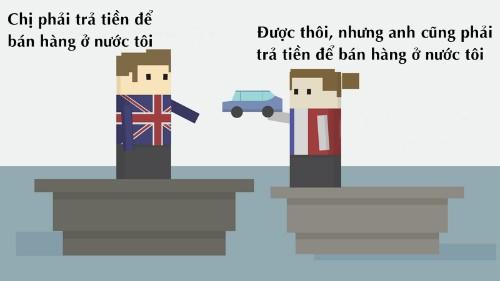 Cuộc chia tay lịch sử Anh - EU qua hình họa con thuyền