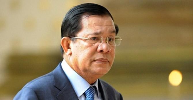 """Thủ tướng Campuchia phản đối ASEAN ủng hộ phán quyết """"đường lưỡi bò"""""""