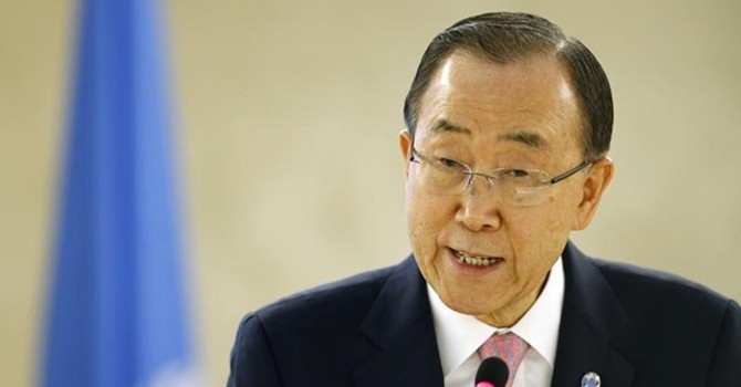 Ông Ban Ki-moon nhắc Trung Quốc giải quyết hòa bình vấn đề Biển Đông